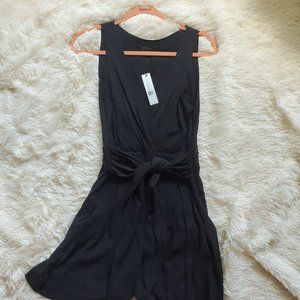 Theory Pants & Jumpsuits - NWT Theory Gianna Black Silk Romper - Size 8